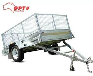 8X5 BOX TRAILER & TIPPER | 600MM CAGE | GALVANISED STEEL Campbellfield Hume Area Preview