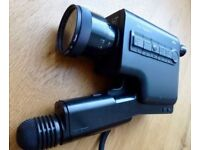 VINTAGE BRAUN SUPER 8 Nizo Integral 5 - with lens cap and German instructions