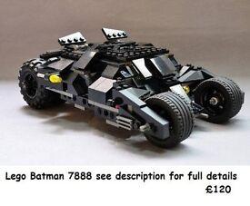 Lego Model from Batman 7888