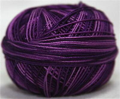 Lizbeth Egyptian Cotton Crochet Thread Size 10 Color 177 Elderberry Jam