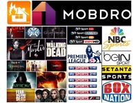 Amazon Fire Tv stick FULLYLOADED with KODI 16.1 +MOBDRO MEGABOX✔Movies✔TV Shows✔Sports✔PPV BOXING!