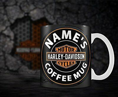 Personalised Harley Davidson Bike Mug - ANY NAME'S COFFEE MUG