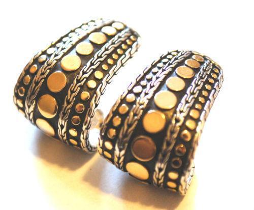 John hardy hoop earrings ebay for John hardy jewelry earrings