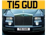 Cherished Number Plate T15 GUD - Good Registration / Private Plate - Personalised