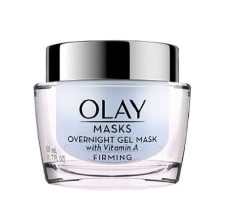 Olay Firming Overnight Gel Face Mask with vitamin A, 1.7 fl