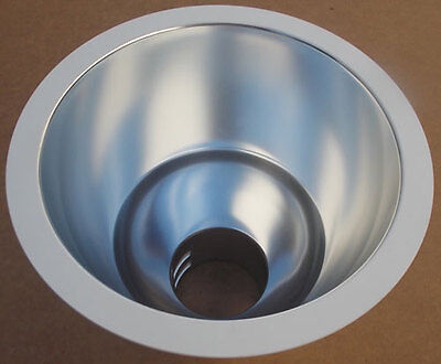New Maxilume 6101cl-wh 6 Clear Baffle White Reflector Recessed Can Lighting