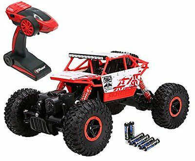 Rc Monster Truck 4Wd Off Road Vehicle Remote Control Car Toy Rock Crawler New