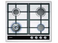 Siemens Gas hob with wok burner