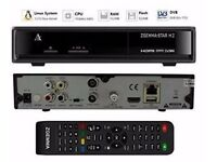 Original Zgemma Star H2 DVB-S2/DVB-T2/DVB-C Satellite & Terrestrial Combo