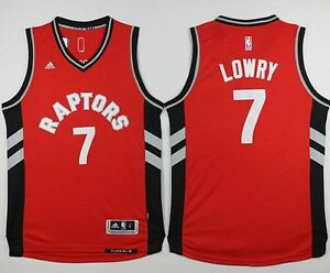 Toronto Raptors #7 Kyle Lowry Red Stitched NBA Jersey