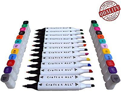 Fabric Markers Permanent Non Bleed 12 Pack Premium Quality Bright Dual Tip St