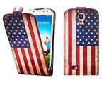 Galaxy Core 8262 flipcover vintage US flag