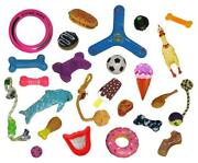 Job Lot Dog Toys