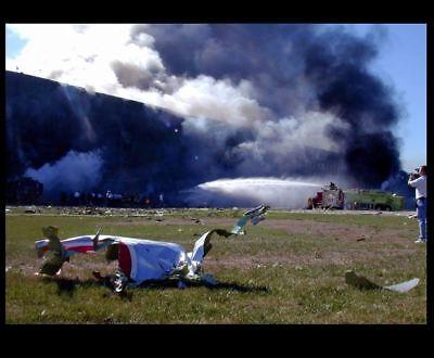 9/11 Attacks Pentagon Crash Site Wreckage PHOTO Flight 77 Terrorist Hijacking