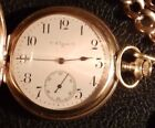 Elgin Antique Pocket Watches with 12-Hour Dial