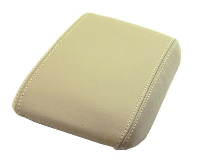 Fits 97-01 Toyota Camry Beige Vinyl Center Console Lid Armrest Cover (Skin Only) Beige Cam Cover