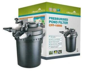 Uv pond filter ebay for Pond filter box with uv light