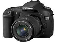 CANON EOS 30D DIGITAL SLR + CANON EF-S 18-55mm LENS
