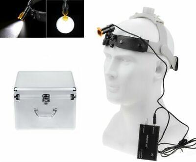 Dental Surgical 5w Led Headlight Lamp With Filter Headband Dy-007-haluminum Box