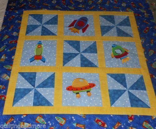 Applique Baby Quilt Top Ebay
