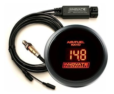 INNOVATE DB RED LED WIDEBAND GAUGE KIT, LC-2, with O2 SENSOR #3796