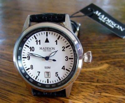 Original Madison New York - Coole Yachtuhr für den Navigator - schönes Geschenk!