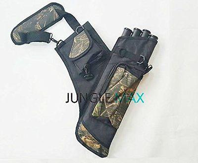 Jungle max bow Hunting 1ea Sight Quiver Arrow Bag Bow Rests Belt Archery Hunter
