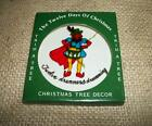 12 Twelve Days of Christmas Ornament