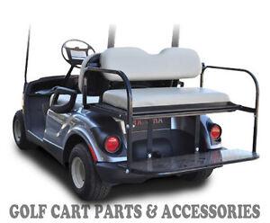 *STONE CUSHIONS* Golf Cart Rear Seat Kit - Flip Seat Yamaha G29 'DRIVE' ('07-UP)