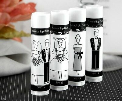 Wedding Gifts For Groomsmen (Bride & Groom Lip Balm for Wedding Favors & Gift Bags, Bridesmaid,)