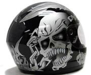 Full Face Motorcycle Helmet Size Small