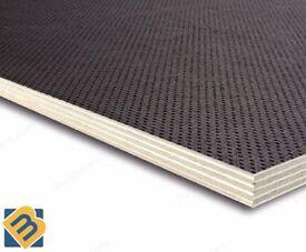 Anti-Slip Mesh Phenolic Birch Plywood Sheets - Trailer Flooring Buffalo Board 9mm 12mm 18mm 24mm