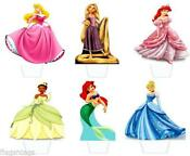 Disney Rice Paper Cake Toppers