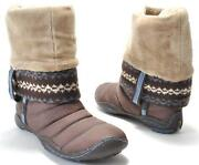 Womens Brown Boots Size 8