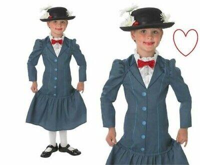 Mädchen Mary Poppins Verkleidung Buch Tag Disney - Mary Poppins Kostüm Kind