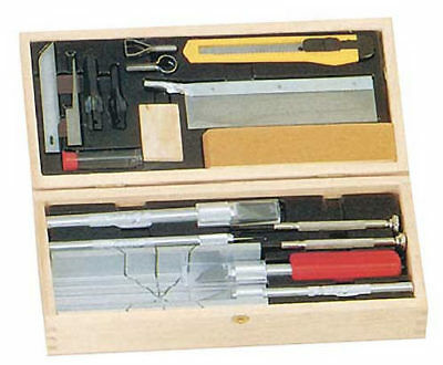 Excel Hobby Blade Deluxe Knife & Tool Set w/Wood Chest 44286