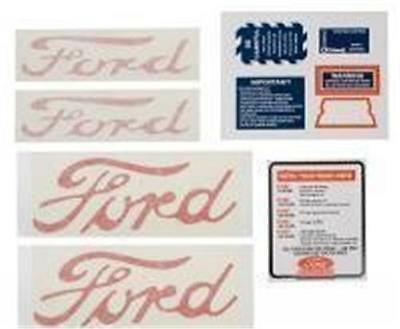 Ford Tractor Naa Jubilee Tractor Decal Kit Set Naa5354