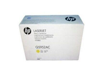 HP Q5952AC (Q5952A) Yellow 4700 Toner Cartridge Genuine New SEALED BOX