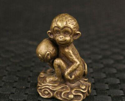 MonkeyJack Lot de 4 petites statues traditionnelles de Bouddha Moine Th/é D/écoration pour animal de compagnie sur votre plateau KungFu Accessoires de m/éditation pour jardin zen