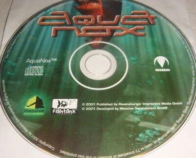 AquaNox - PC CD Computer game Disc Only Aqua Nox fishtank interactive 2001 #72B