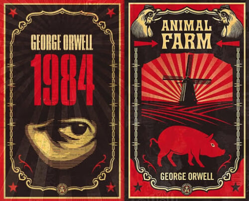 Animal Farm and 1984 by George Orwell & Christopher Hitchens