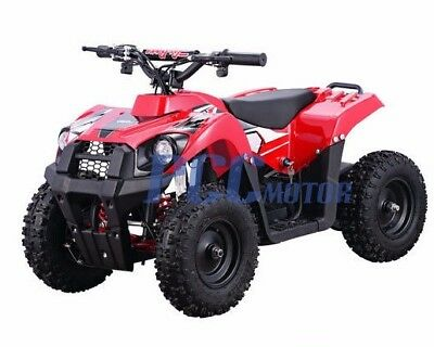 Free Shipping 500W 36V Electric Battery Kids Boys Ride On Quads RED ATV