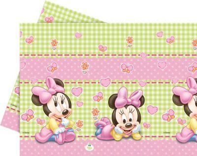 Disney Baby Minnie Mouse Party Tischdecke Kindergeburtstag Baby Shower