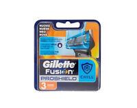 Gillette Fusion Proshield Chill 3 Lamette Ricambio Rasoio Manuale - gillette - ebay.it