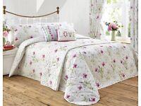 Charmaine duvet set/cushions/curtains/bedspread