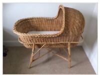Traditional Moses basket
