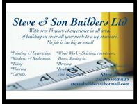 Quality English Builder & Handyman - Kitchens Bathrooms Tiler Flooring Carpenter Painter Fitter