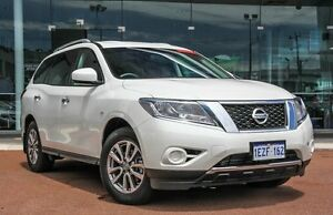 2015 Nissan Pathfinder R52 MY15 ST X-tronic 2WD White 1 Speed Constant Variable Wagon Osborne Park Stirling Area Preview