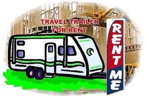 Travel Trailer For Rent for Towing to USA