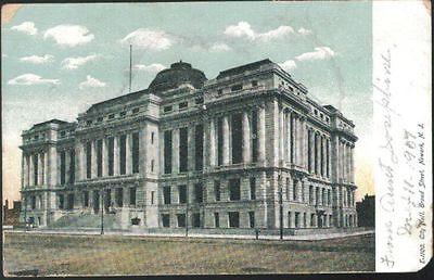 City Hall, Broad Street, Newark, NJ - written (Nj City Hall)